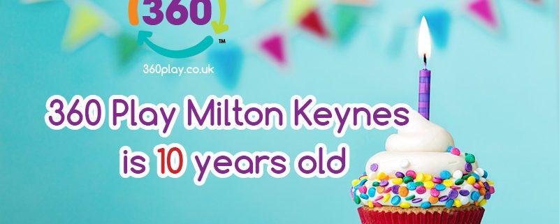 10th Birthday MK Postcard