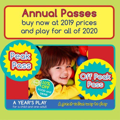 Annual Passes ad